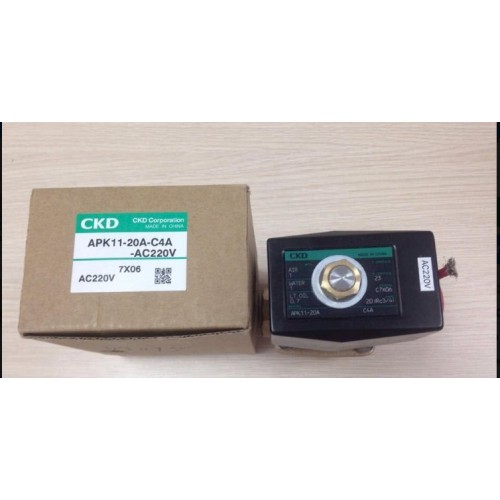 VAN ĐIỆN TỪ CKD APK11-20A-C4A-AC220V