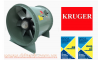 QUẠT THÔNG GIÓ KRUGER/KRUGER VENTILATION - TDC Series - Axial Flow Fan - Direct Driven Type